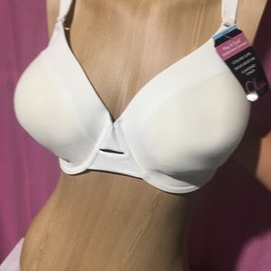 Olga white bra